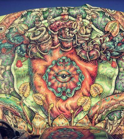 CONCLUYE PRIMERA ETAPA DEL PROYECTO ARTE URBANO: Pintan 4 murales para conectar con la identidad cancunense