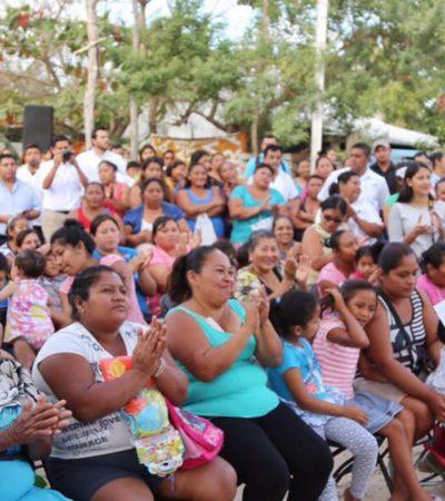 Lleva Alcalde jornada de 'rescate de espacios' a la colonia Valle Verde de Cancún