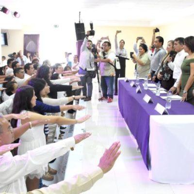 Rinden protesta 60 asociaciones civiles en Quintana Roo