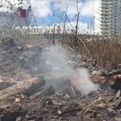 Incendio en Tajamar exhibió falta de apoyo a Bomberos por parte del gobierno municipal, dice perredista
