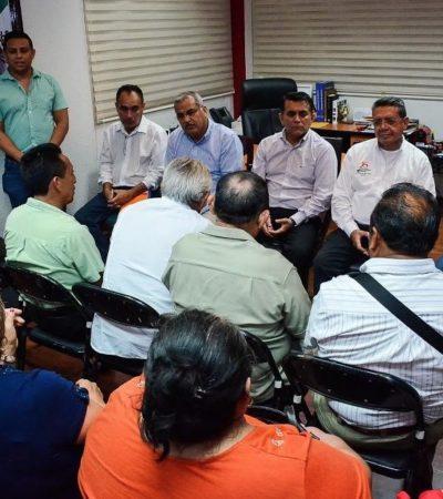 Acuerdan gestionar y acelerar trámites para el pago de indemnizaciones por tierras de ejidatarios de FCP