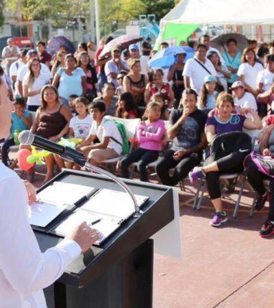 Encabeza Alcalde jornada del programa 'Rescatando Espacios' en la Región 234,