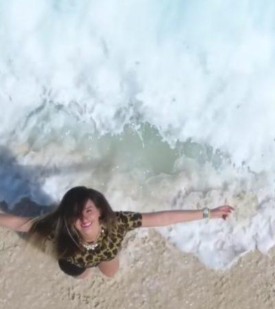 Aclara funcionaria que Gobierno de BJ no pagó la producción de video criticado por difundir imagen positiva de Cancún