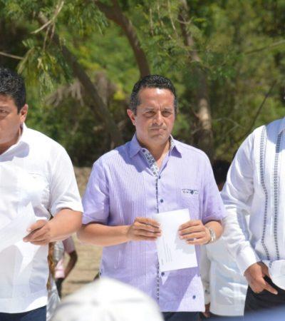 Banderazo a electrificación y pavimentación en colonias Fraternidad y Mártires Antorchistas en Chetumal