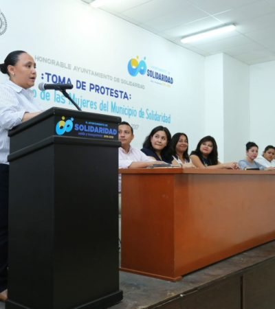 Obtiene Solidaridad 1.3 mdp para programas de prevención de violencia de género
