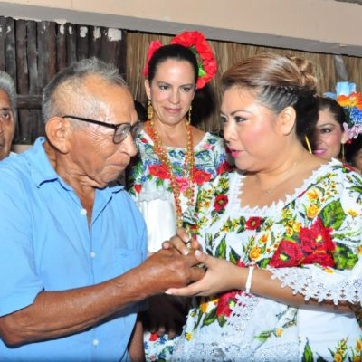 Inaugura Alcaldesa la Fiesta Tradicional Maya de Tulum
