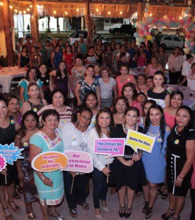 Reconocen a destacadas mujeres de Tulum, dos de ellas mayas