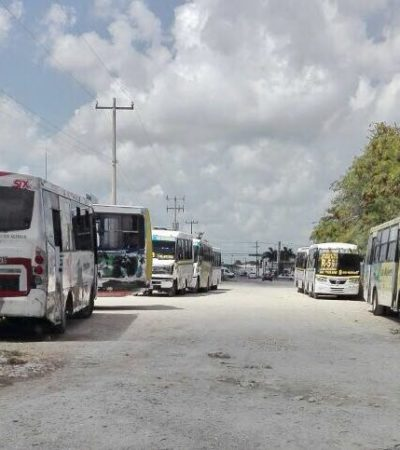 Intenta TTE meter Urvans por la fuerza en Ciudad Natura; Maya Caribe y Turicún se lo impiden.