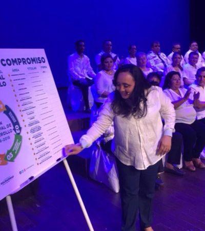 """Presenta Cristina Torres Plan de Desarrollo para """"devolver la grandeza a Solidaridad"""""""