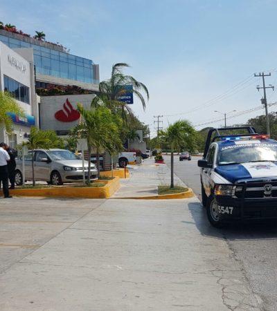 EL HAMPA ANDA SUELTA EN CANCÚN: Roban casi medio millón de pesos a una persona afuera de un banco de la Avenida Kabah; de financiera se llevaron otros $300 mil