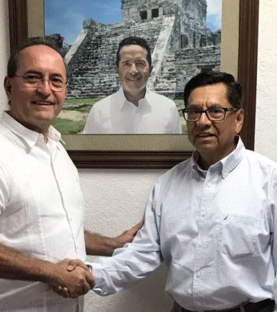Joaquín González Castro, ex asesor de 'Chanito' Toledo, se sube al gabinete de Carlos Joaquín