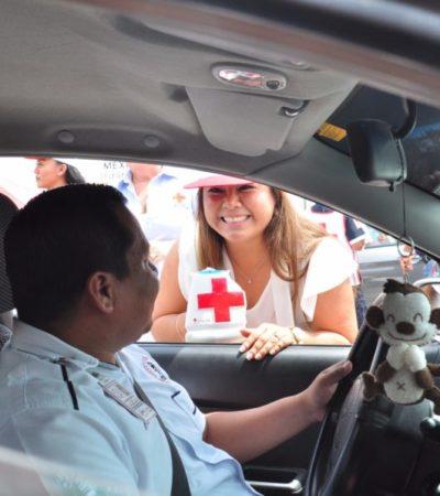 Inicia Romi Dzul colecta anual en favor de la Cruz Roja en Tulum