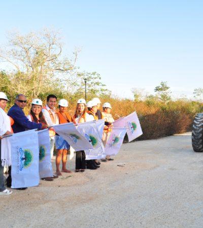 Invierten 3.3 mdp para pavimentación en la colonia Las Veletas de Tulum