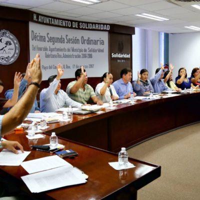 Aprueba Cabildo ampliar vigencia de licencias para conductores del transporte público en Solidaridad