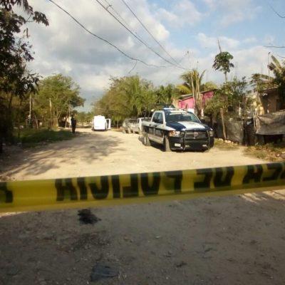 AMANECE CANCÚN CON OTRO CALCINADO: Hallan cadáver de presunto ejecutado en la colonia irregular Valle Verde