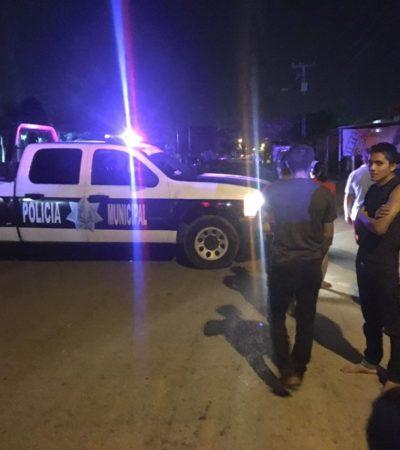 REPORTAN BALAZOS EN LA REGIÓN 246: Ataque a una familia en moto deja un hombre muerto y una mujer herida en Cancún