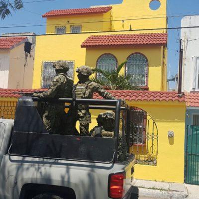 CATEA MARINA PRESUNTA CASA DE SEGURIDAD: Siguen la pista de hombres armados detenidos anoche en Plaza de Toros de Cancún