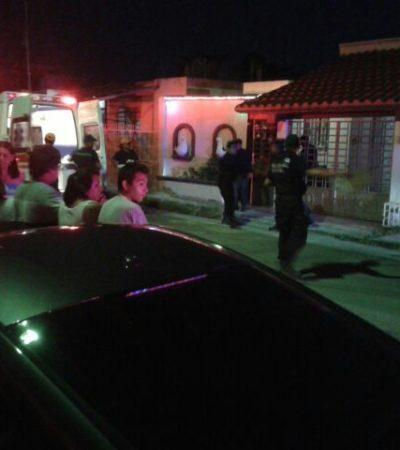 CRIMEN PASIONAL EN CHETUMAL: Policía estatal mata a balazos a su esposa en proceso de divorcio en la colonia Emancipación