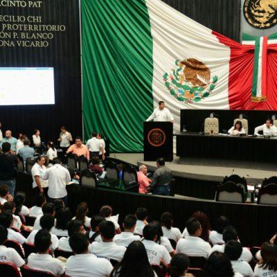 Presentan PRI y PAN en el Congreso iniciativas para eliminar la figura del fuero en QR
