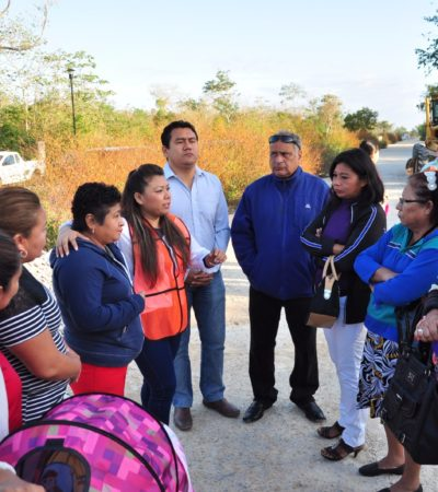 Alistan convocatoria para integrar comités vecinales en Tulum
