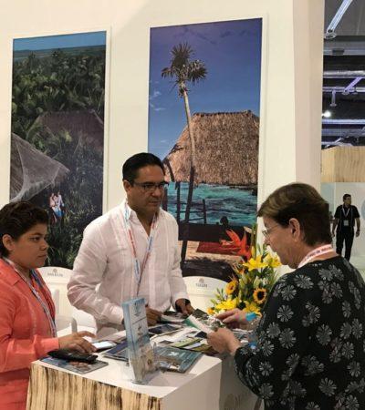 Participa Tulum en el Tianguis de Acapulco a través de la directora de Turismo