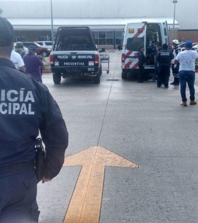 VIOLENTO ASALTO EN PLAZA CUMBRES: Ladrones dan cachazo a diligenciero y se llevan $90 mil