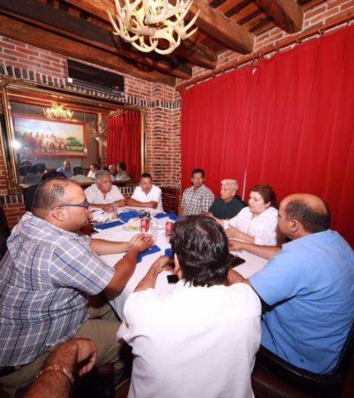 Realiza Titular de Sintra 'reunión de trabajo' con propietarios de grúas… ¡en el privado de exclusivo restaurante Bovinos!