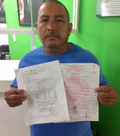 Denuncia ciudadano abusos y actos de corrupción de Desarrollo Urbano de Benito Juárez