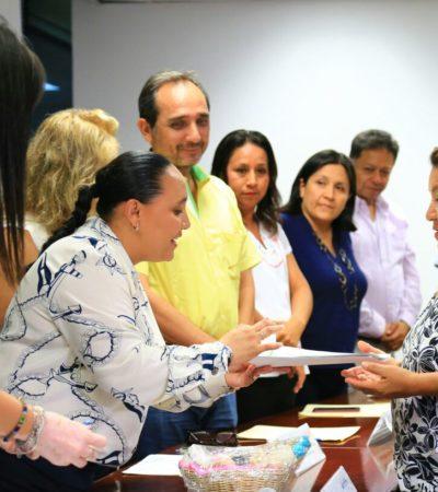Entrega Solidaridad primeros apoyos del programa 'crédito a la palabra para mujeres emprendedoras'