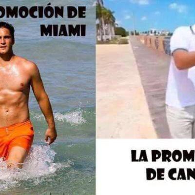 Redes sociales no perdonaron y llovieron los 'memes' por el video del 'Cancuncito'