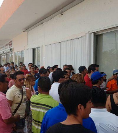 TÍPICO… HASTA EL ÚLTIMO MINUTO: En el último día del emplacamiento con descuento, largas filas en módulos de Sefiplan