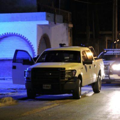 Hieren con arma de fuego hombre en una supuesta riña de parroquianos en bar de Puerto Morelos