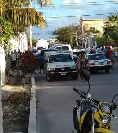 EJECUTAN A POLICÍA MUNICIPAL DE CANCÚN: Atacan a balazos a agente en la Región 228
