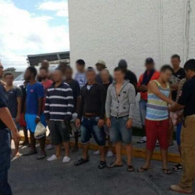 Dan detalles del rescate de un grupo de 31 ilegales cubanos secuestrados en Cancún