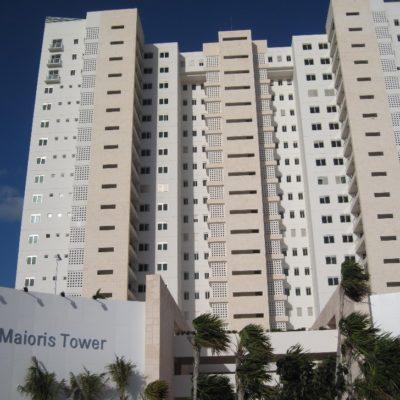 RESTITUYEN DESPOJO DEL BORGISMO: Devuelven a legítimos propietarios lujosos departamentos de la torre Maioris Cancún