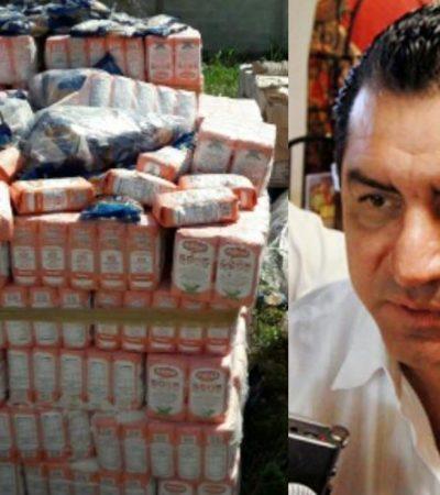 SUSPENDEN A MARIO CASTRO EN DICONSA: Investigan a operador del PRI por escándalo de alimentos echados a perder en Chetumal