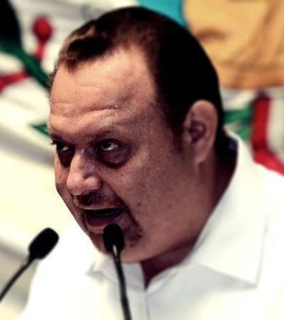 """""""CONMIGO NO TE METAS"""": Diputado José Esquivel se 'enchila' y amenaza a reportero por publicar nota sobre los más 'flojos' del Congreso"""
