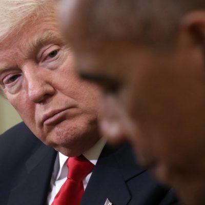 Pide Trump al Congreso investigar a Obama por supuesto espionaje telefónico en su contra