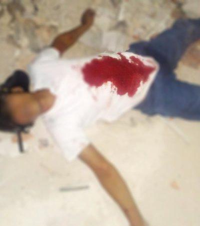 HALLAN A SUPUESTO EJECUTADO EN PLAYA: Hombre fue encontrado muerto en un camino de terracería en las inmediaciones de la Bellavista