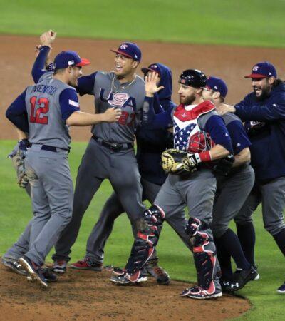 Con paliza de 8-0, Estados Unidos derrota a Puerto Rico y se queda con el Clásico Mundial de Beisbol