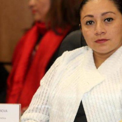 Reconoce diputada que no hay que politizar el problema de la inseguridad en Cancún, pero le pide al Alcalde atacar el problema