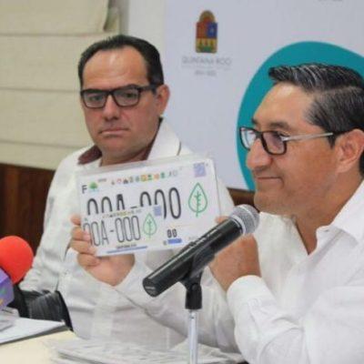 A partir del 13 de marzo comienza la entrega de placas en QR a quienes hayan pagado