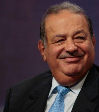 SLIM, UN RICO YA NO TAN RICO: El millonario mexicano sale del Top 5 de la lista de Forbes de los más acaudalados del mundo