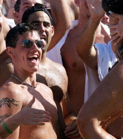 Repartirán condones a 'springbreakers' en Cancún