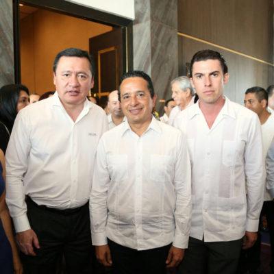 Reconoce Remberto Estrada respaldo federal para mayor seguridad en QR y Cancún