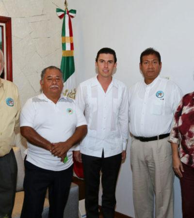 Se reúne Alcalde con 'Fundadores de Cancún' para planear los festejos del próximo aniversario del principal destino turístico de México