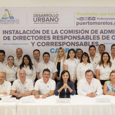 Anuncian Alcaldesa programa de registro de obras en Puerto Morelos