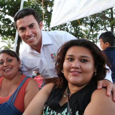 Anuncia Remberto construcción de un domo deportivo, pozos de absorción y más obras de infraestructura en Cancún