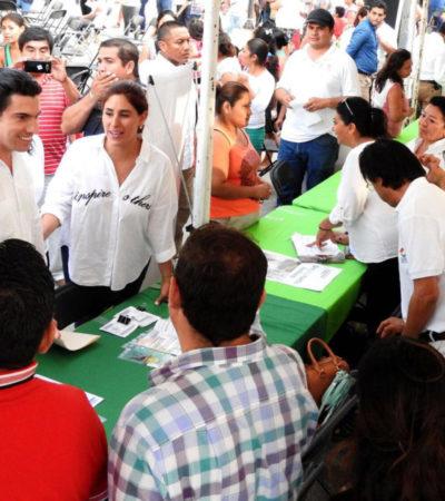 Lleva Alcalde programa 'Bienestar Social y Salud' a Villas Otoch Paraíso