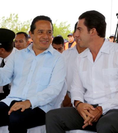En el arranque del 'Operativo Semana Santa 2017', asegura Alcalde que con la suma de esfuerzos se garantizará la paz de los cancunenses